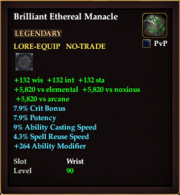 Brilliant Ethereal Manacle