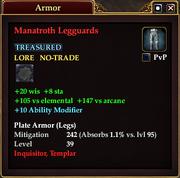 Manatroth Legguards