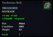 Verdurous Belt