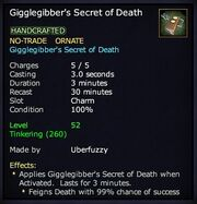 Gigglegibber's Secret of Death