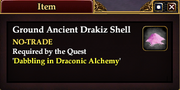 Ground Ancient Drakiz Shell