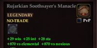 Rujarkian Soothsayer's Manacle