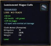 Luminescent Magus Cuffs