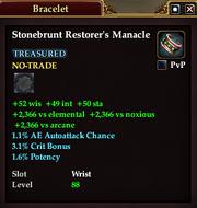 Stonebrunt Restorer's Manacle