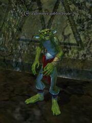 A glimmer goblin brute