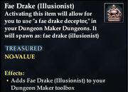 Fae Drake (Illusionist)