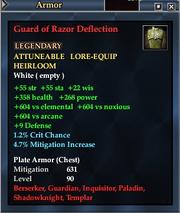 Guard of Razor Deflection