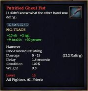 Putrified Ghoul Fist