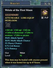 Wrists of the First Moon