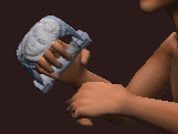 Tempered Knuckles (Equipped)