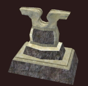 A Hero's Gravestone (Visible)