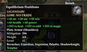 Equilibrium Pauldrons