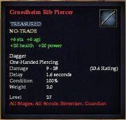 Gruedheim Rib Piercer