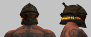 Legionnaire's Sigil Etched Helmet (Equipped)