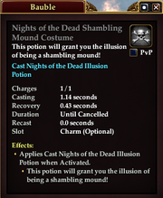 Nights of the Dead Shambling Mound Costume