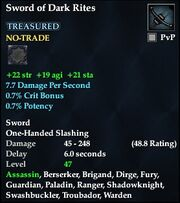 Sword of Dark Rites