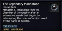 The Legendary Manastone