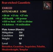 Fear-etched Gauntlets