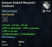 Jumjum Soaked Shepard's Armband