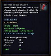 Sleeves of the Swamp