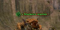 A Mazkeen warrior