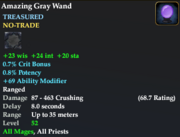 Amazing Gray Wand