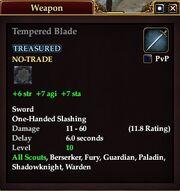 Tempered Blade