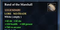 Band of the Marshall