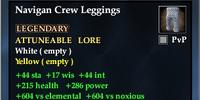 Navigan Crew Leggings