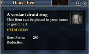 A verdant druid ring