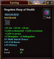 Forgotten Hoop of Wealth