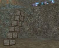Crate stairs to Ark of Harclave
