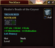 Healer's Beads of the Geyser