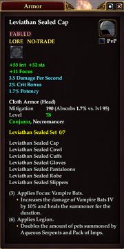 Leviathan Sealed Cap