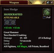 Iron Sledge