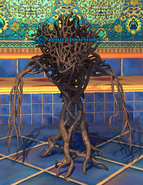 A prized possession (root horror)