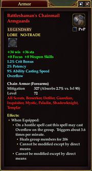 Battleshaman's Chainmail Armguards