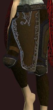 Focused Initiate's Leg Wraps (Equipped)