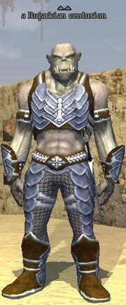 A Rujarkian centurion