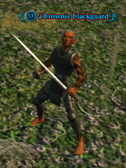 A brownie blackguard