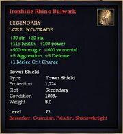 Ironhide Rhino Bulwark
