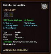 Shield of the Last Rite