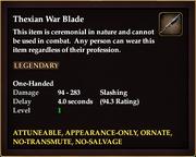 Thexian War Blade