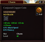 Conjured Copper Coin