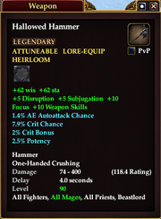 Hallowed Hammer