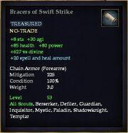 Bracers of Swift Strike