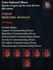 Gore-Imbued Shoes