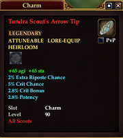 Tundra Scout's Arrow Tip