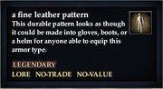 A fine leather pattern