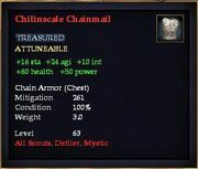 Chitinscale Chainmail